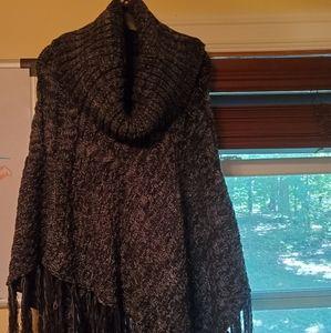 NWT cowl neck shawl